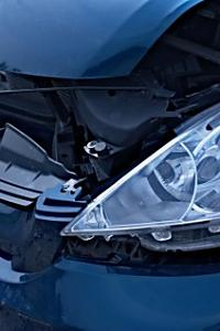 交通事故に遭ってしまった妊婦さん